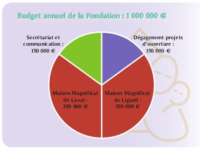 Le budget de la fondation
