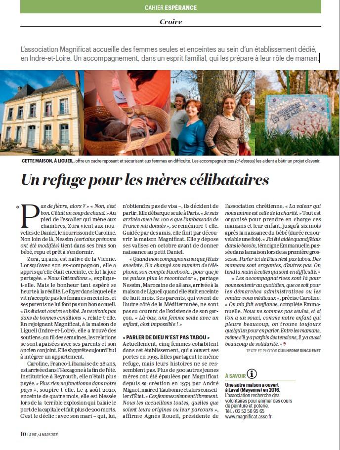Article La Vie 2021